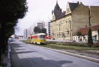 Imagine atasata: ORIGINAL TROLLEY SLIDE Timisoara Romania 224-47 Scene July 1969.JPG