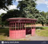 Imagine atasata: old-tram-used-as-a-bus-shelter-in-kingsthorpe-northampton-EHMKW1.jpg