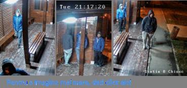 RATT va cere sprijinul la identificarea unui grup de trei persoane ce a  vandalizat in mai multe seri consecutiv 94421900663